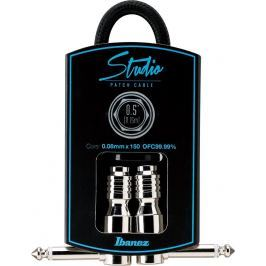 Ibanez HF05P Woven Black Patch Cable