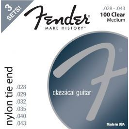 Fender 100 Classical Nylon Tie End 028-043 3 Pack