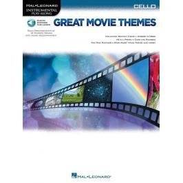 Hal Leonard Great Movie Themes: Instrumental P-A Cello Violoncello