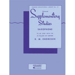 Hal Leonard Rubank Supplementary Studies Saxophone