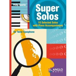 Hal Leonard Super Solos Tenor Saxophone and Piano