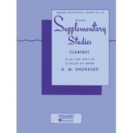 Hal Leonard Rubank Supplementary Studies Clarinet