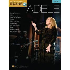 Hal Leonard Easy Piano Play-Along Volume 4: Adele
