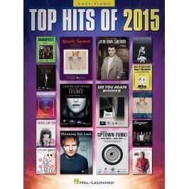 Hal Leonard Top Hits of 2015 - Easy Piano Piano