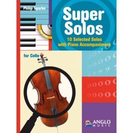 Hal Leonard Super Solos Violoncello and Piano