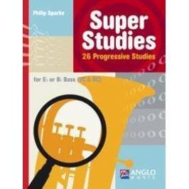 Hal Leonard Super Studies Bass TC/BC
