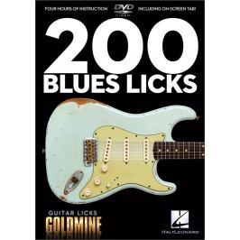 Hal Leonard 200 Blues Licks Guitar