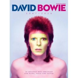 Hal Leonard David Bowie: 1947-2016 Piano, Vocal and Guitar