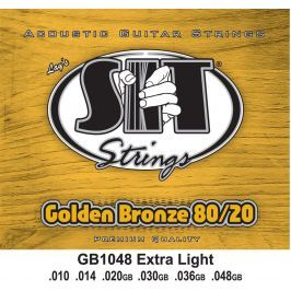 SIT Strings GB1048 Golden Bronze 80/20 Acoustic Extra Light