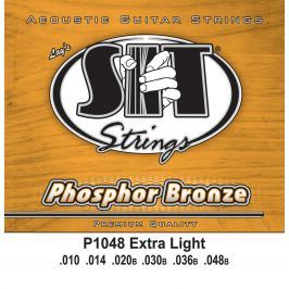 SIT Strings P1048 Phosphor Bronze Acoustic Extra Light