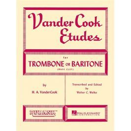 Hal Leonard Vandercook Etudes for Trombone or Baritone