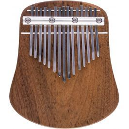 Kalimba Musical Instrument LO15 Diatonic G-Dur Polished Walnut