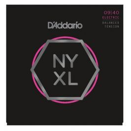 D'Addario NYXL0940BT Nickel Wound Balanced Tension Super Light 09-40