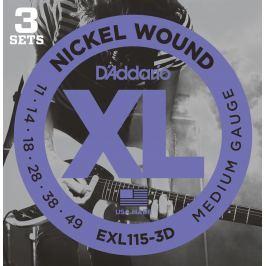 D'Addario EXL 115 3 D