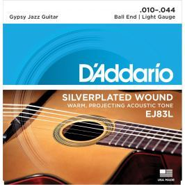 D'Addario EJ83L Gypsy Jazz Light