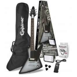 Epiphone PRO-1 Explorer Performance Pack Silver Burst