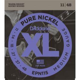 D'Addario Pure Nickel Blues/Jazz Rock 11-48