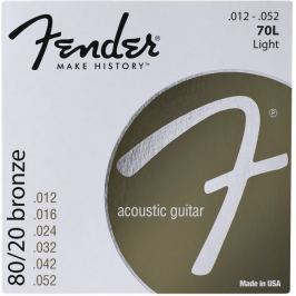Fender Bronze Acoustic Strings 12-52