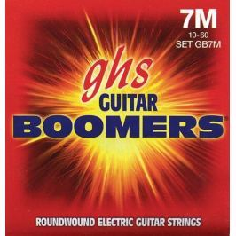 GHS GB 7 M Electric Boomers 7-String Set - Medium
