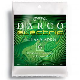 Martin D9300 Darco Electric Guitar Strings, Extra Light