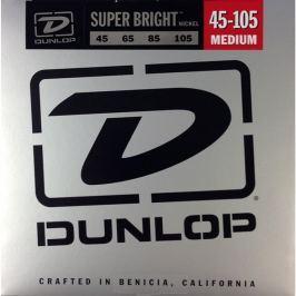 Dunlop DBSBN45105 Nickel Plated Bass Guitar Strings, Medium