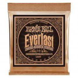 Ernie Ball 2548 Everlast Light Coated Phosphor Bronze Acoustic