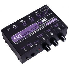 ART ProMIX Three Channel Microphone Mono Mixer