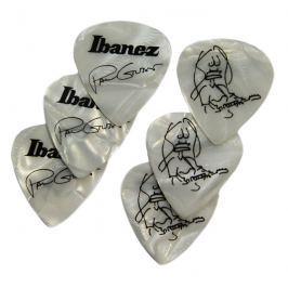 Ibanez 1000PG-PW Paul Gilbert Pick Set of 6 Pearl White