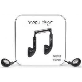 Happy Plugs Earbud Black Saint Laurent Marble Malá sluchátka do uší