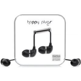 Happy Plugs In-Ear Black Saint Laurent Marble