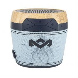 House of Marley Chant Mini Portable Bluetooth Audio System Blue Hemp