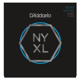 D'Addario NYXL1252W Nickel Wound Light Wound 3rd 12-52