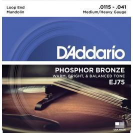 D'Addario Phosphor Bronze Mandolin Strings Medium/Heavy 11.5-41