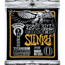 Ernie Ball 3122 Coated Electric Titanium RPS Hybrid Slinky