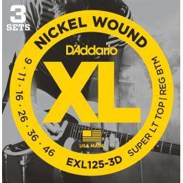 D'Addario EXL 125 3 D