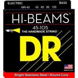 DR Strings MR 45 Hi-Beam Electric Bass Strings (Medium, 45-105)