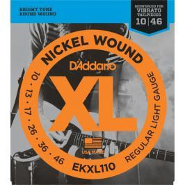 D'Addario EKXL 110 nickel wound, regular light tremolo, 10-46