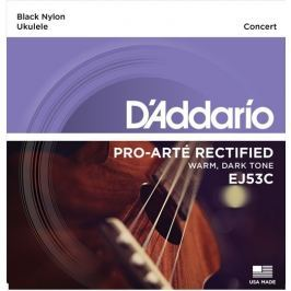 D'Addario EJ53C Pro-Arté Rectified Ukulele, Concert