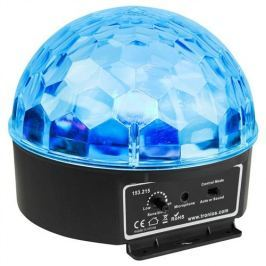 BeamZ Mini Half Ball 6x 3W RGBAW LED IR
