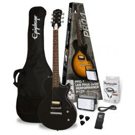 Epiphone PRO-1 Les Paul Jr. Performance Pack Ebony