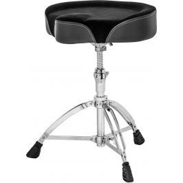 Mapex T765A Cloth Saddle Top Double Braced Drum Throne Židle a lavice