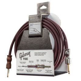 Gibson CAB25-CH Instrument Cable Cherry