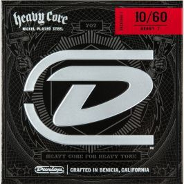 Dunlop DHCN 1060 Heavy Core 7 String Guitar Strings
