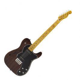 Fender Modern Player Telecaster Thinline Deluxe MN Black Transparent