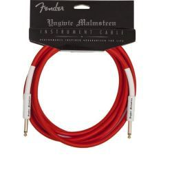 Fender Yngwie Malmsteen Instrument Cable 20'' Red