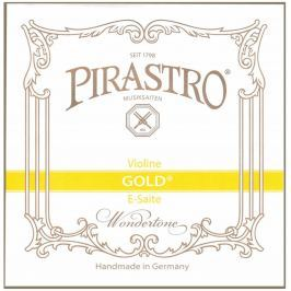 Pirastro Gold 4/4 Violin E Loop steel medium