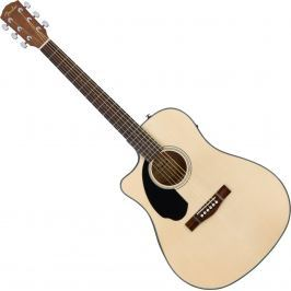 Fender CD-60SCE Left-Hand Natural