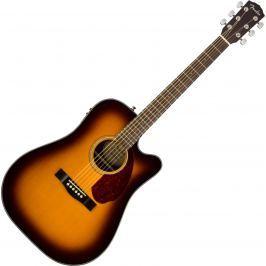 Fender CD-140SCE with Case Sunburst