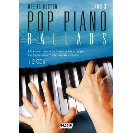HAGE Musikverlag Pop Piano Ballads 3 (2x CD)