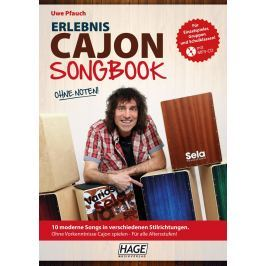 HAGE Musikverlag Experience Cajon Songbook with MP3-CD